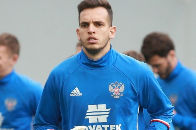 Вратарем сборной России в матче со Швецией в Лиге наций будет Гилерме