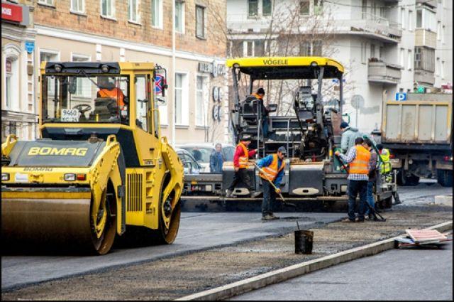 В Красноярске затягивается ремонт дорог.