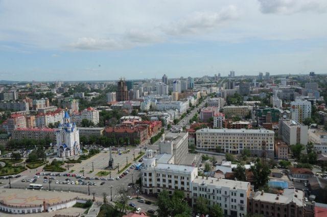 Хабаровск, архивное фото
