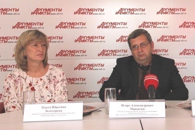Ольга Золоторева и Игорь Маковлев.