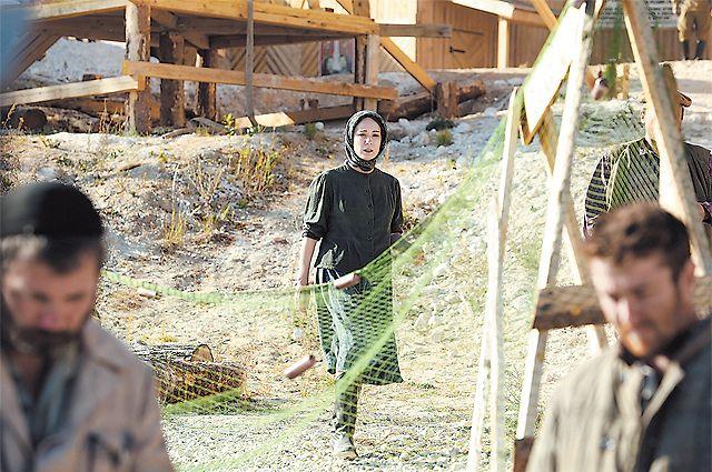 Чулпан Хаматовой в сериале досталась главная роль - татарской девушки Зулейхи.