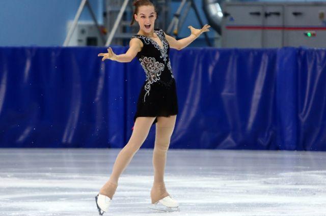 На лед выйдет Анна Тарусина.