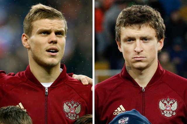 Павел Мамаев и Александр Кокорин.