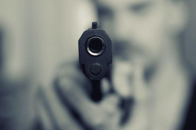 Достал пистолет и выстрелил