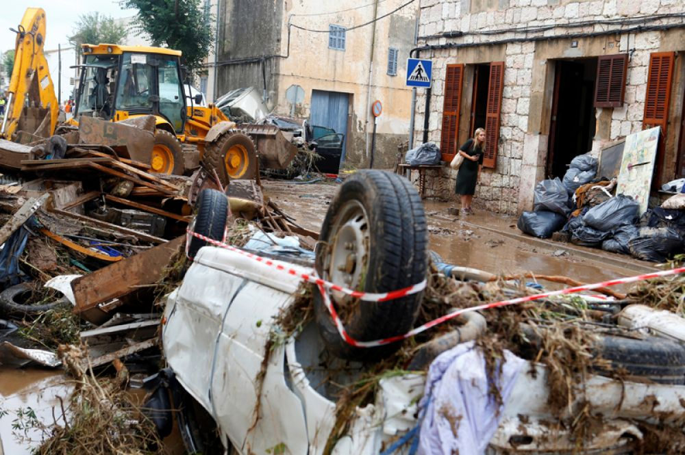 Наиболее тяжелая ситуация сложилась в муниципалитете Сан-Лоренсо.