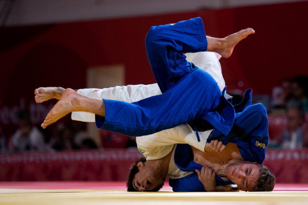Соревнования по дзюдо на юношеских Олимпийских играх в Буэнос-Айресе, Аргентина.