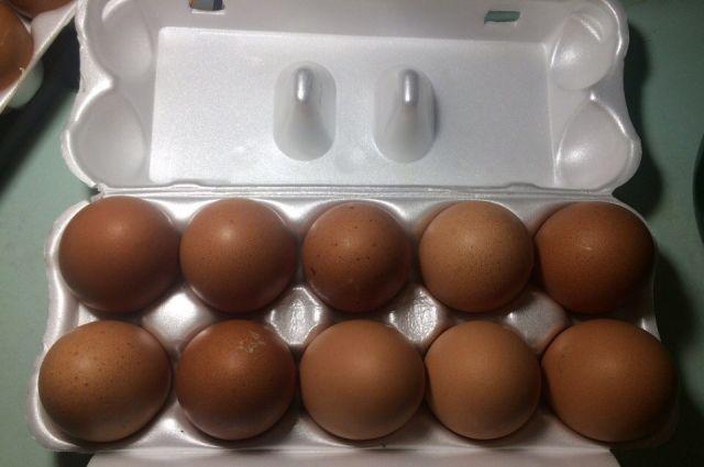 В сентябре яйца подорожали.