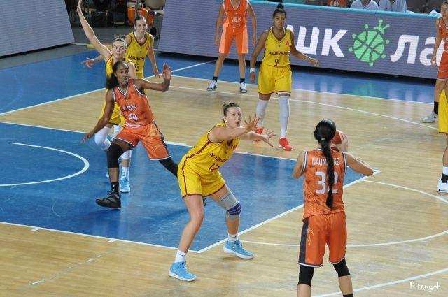БК «Надежда» пробилась в групповой этап Евролиги.