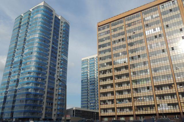 Самые высокие дома в краевой столице с 27-ю этажами.