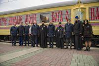 Инициаторы миссии – правительство Новосибирской области, Новосибирская митрополия Русской православной церкви и Западно-Сибирская железная дорога.