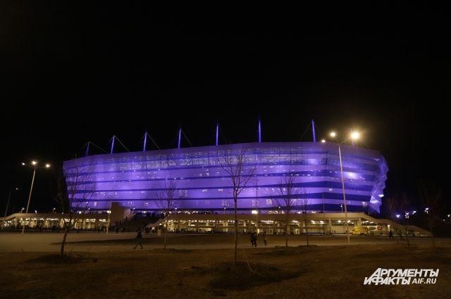 На матч сборных России и Швеции в Калининграде пришли 31690 зрителей.