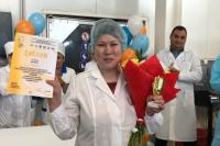 Лучшим обработчиком рыбы на Ямале стала сотрудница Салехардского комбината