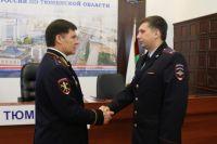 В УМВД Тюменской области представили новых руководителей подразделений