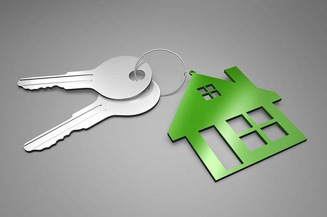 В Тюменской области многодетная семья получила ключи от нового дома