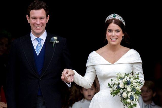 Свадьбы принцессы Евгении и Джека Бруксбэнка.