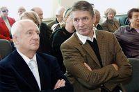 Марк Захаров и Александр Абдулов. 2003 г.