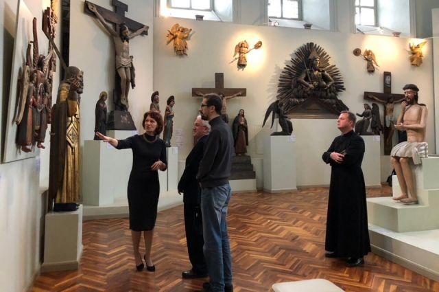 Визит в Пермь официального дипломатического представителя Ватикана - выпервые в истории.