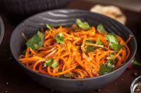 Французский морковный салат.