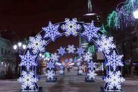 Салехардцы выбирают места, где установят новогодние световые фигуры (ФОТО)