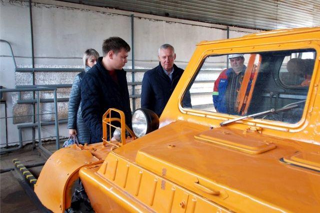 Гости ознакомились с работой Заурального РЭС и Дедуровского мастерского участка.
