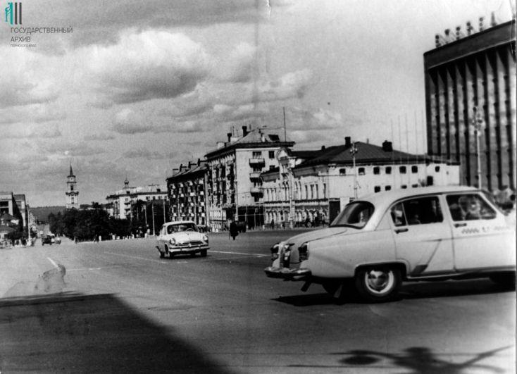 Комсомольский проспект, 1960 год.