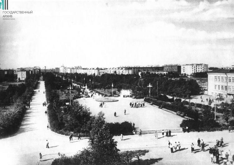 Комсомольский проспект, 1950 год.