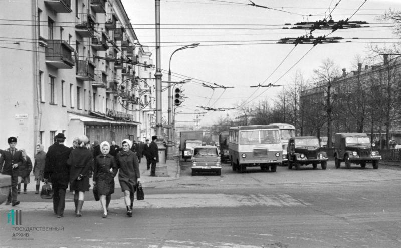 Комсомольский проспект, 1972 год.