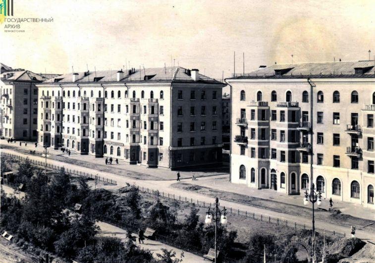 Проспект имени Сталина, 1954 год.