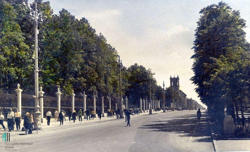 Часть Комсомольского проспекта, 1960 год.