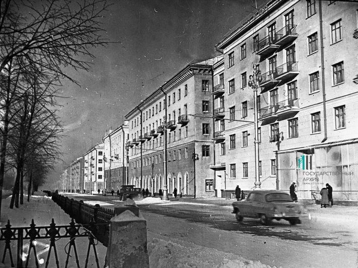 Комсомольский проспект, 1967 год.