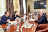 На Ямале обсудили сотрудничество округа и ООО «ЛУКОЙЛ-Западная Сибирь»