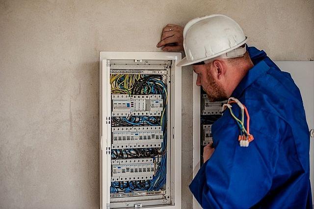 В тюменском ЗАГСе произошло короткое замыкание электропроводки