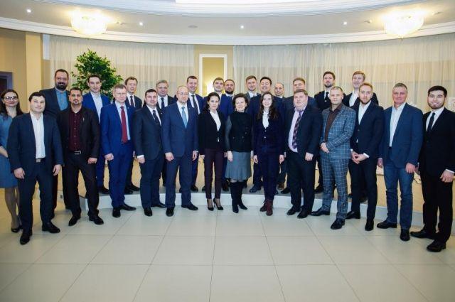 Участники конкурса Лидеры России из Югры