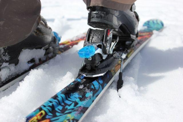 Снежная подушка, по которой передвигаются лыжники, достигает 40 сантиметров.