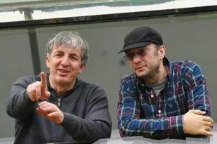 Хизри Абакаров на фото слева