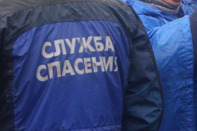 Спасательная операция проходила возле дома на ул. Ленина, 100.