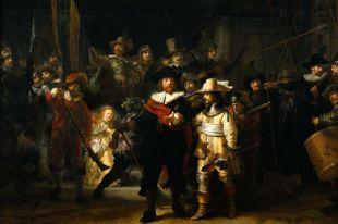 За реставрацией картины Рембрандта «Ночные волки» можно будет наблюдать онлайн