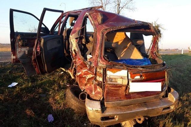 Аварию под Черняховском с двумя пострадавшими устроил лишенный прав водитель.
