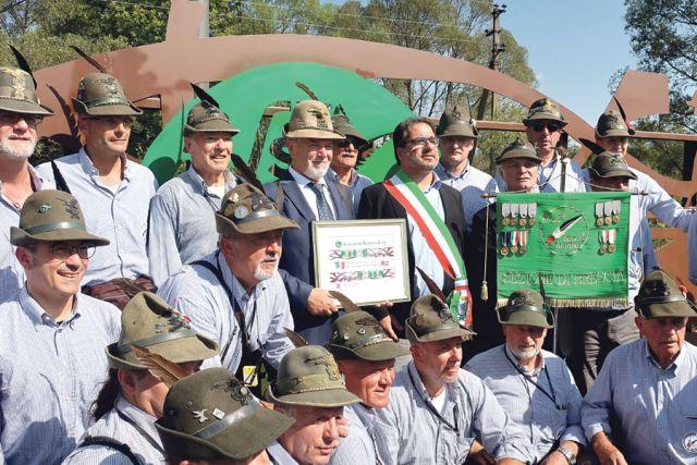 В этом году альпийские стрелки пожаловали не только в Россошь, но и в белгородскую Ливенку.