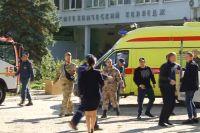 На месте трагедии в Керчи