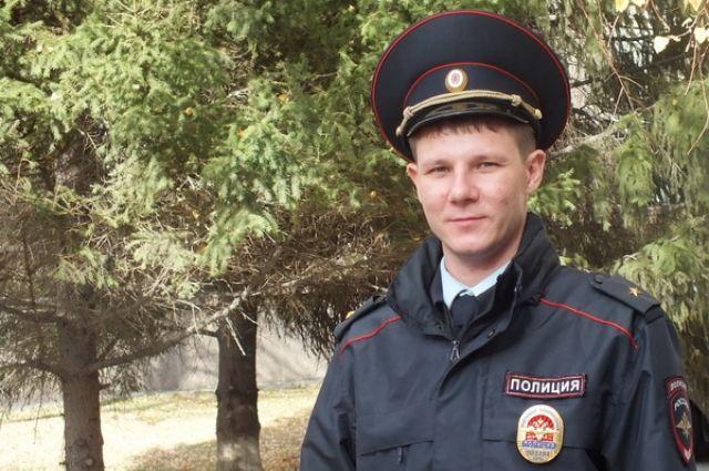 Орчанин Василий Васильев победил в конкурсе «Народный участковый».