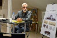 Аркадий Бобович на выставка «Неслучившийся Ярославль».