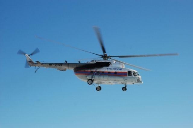 Вертолёт вылетел для оказания экстренной медицинской помощи