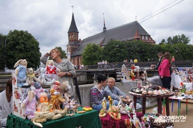 Калининград вошел в ТОП-5 самых популярных курортных регионов России.