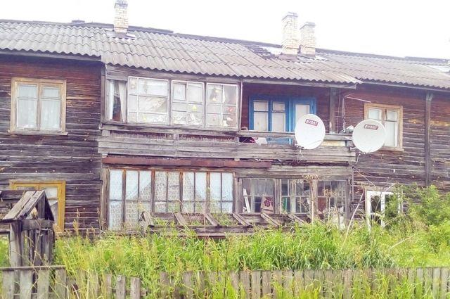 Из старого дома людей переселят только... в бывшую школу.