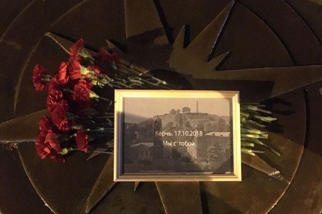 Тюменцы почтили память погибших в Керчи