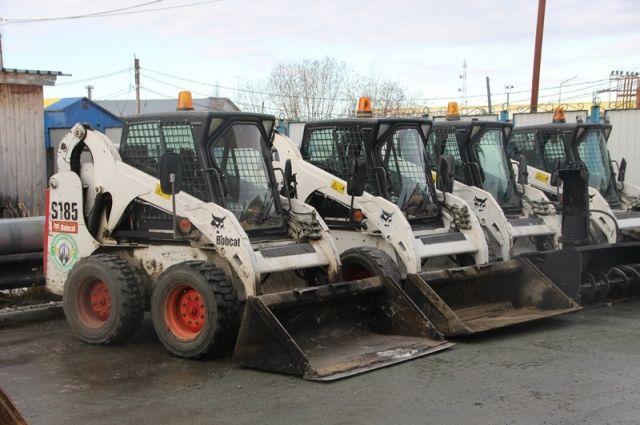На защиту Салехарда от снега выйдут 39 технических единиц (ФОТО)