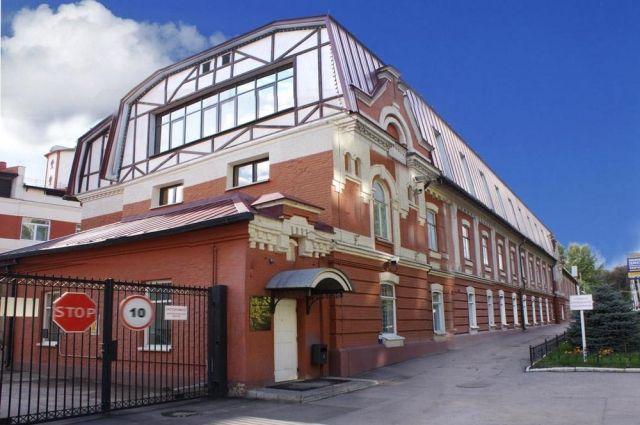 Фабрика в Саратове.