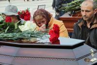 Прощание с погибшими в Керчи