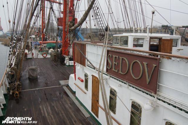 Барк «Седов» завершает навигацию и возвращается в Калининград.